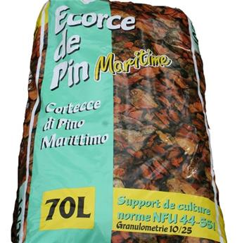 T ECORCE DECORATIVE 50 LITRES 10x25mm